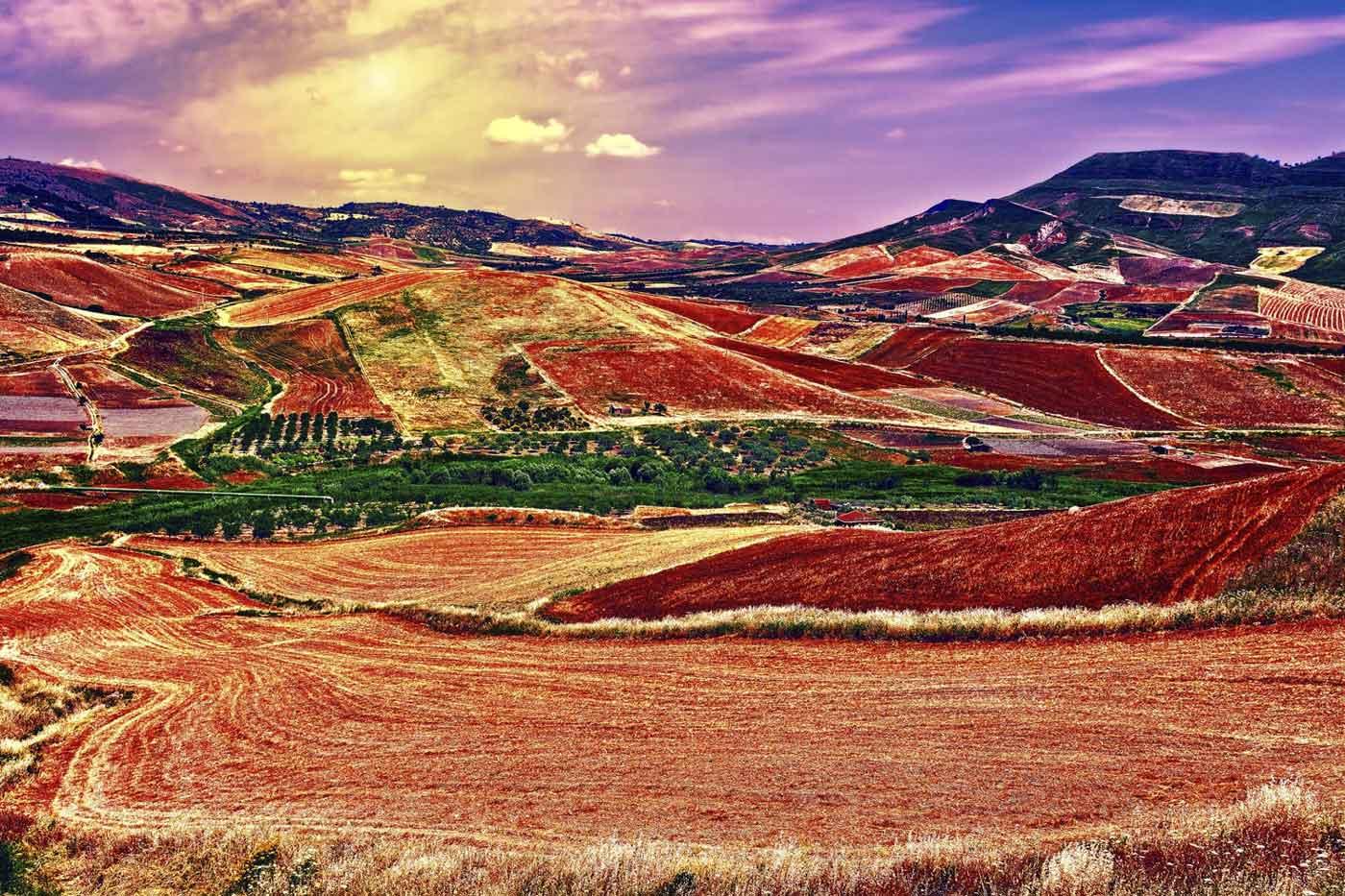 Provinserna Enna och Caltanissetta