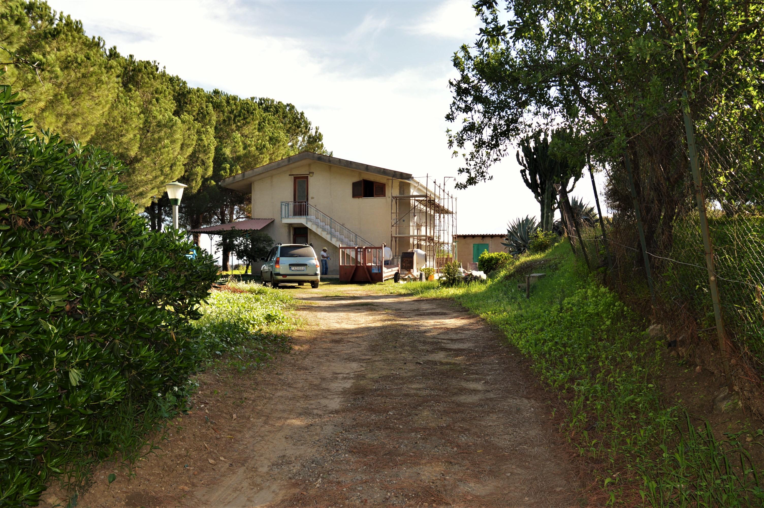 villa la campagne vue sur la mer sicilian houses. Black Bedroom Furniture Sets. Home Design Ideas